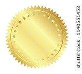 vector illustration of gold... | Shutterstock .eps vector #1140551453