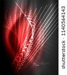 smooth light effect  straight...   Shutterstock .eps vector #1140564143