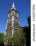 Small photo of The historic St. Botolph's Aldgate church in London.