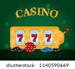casino game concept | Shutterstock .eps vector #1140590669