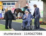 businessman  racehorse owner... | Shutterstock . vector #1140627086