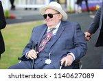 businessman  racehorse owner... | Shutterstock . vector #1140627089