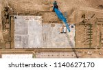 construction site aerial views... | Shutterstock . vector #1140627170