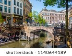 utrecht  netherlands   may 5 ... | Shutterstock . vector #1140644189