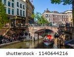 utrecht  netherlands   may 5 ... | Shutterstock . vector #1140644216