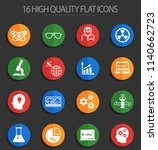 science web icons for user... | Shutterstock .eps vector #1140662723