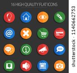 user interface web icons for... | Shutterstock .eps vector #1140662753