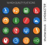 university vector icons for web ... | Shutterstock .eps vector #1140662759