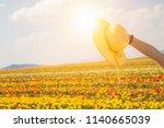 Summer Sunshine Woman Hand...