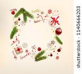 top view of elements. | Shutterstock .eps vector #1140666203