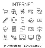 internet related vector icon...