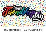 vector illustration card.... | Shutterstock .eps vector #1140684659