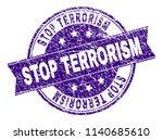 stop terrorism stamp seal...   Shutterstock .eps vector #1140685610