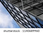 abstract modern architecture.... | Shutterstock . vector #1140689960
