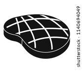cook steak icon. simple...   Shutterstock .eps vector #1140694049
