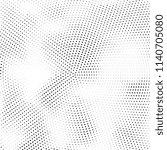 abstract halftone texture....   Shutterstock .eps vector #1140705080