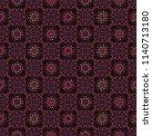 quilt patchwork tile pattern ... | Shutterstock .eps vector #1140713180