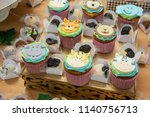 Cupcakes With Children's Animal ...