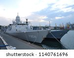 the nato squadron arrived in... | Shutterstock . vector #1140761696