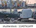 the nato squadron arrived in... | Shutterstock . vector #1140761699