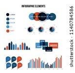 ads report visualisation...   Shutterstock .eps vector #1140784586