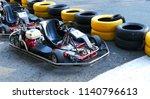 machine go kart before the... | Shutterstock . vector #1140796613
