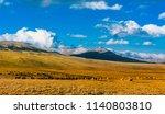 mountain landscape in... | Shutterstock . vector #1140803810