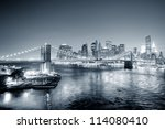 new york city manhattan... | Shutterstock . vector #114080410