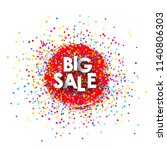 shopping mall big sale | Shutterstock .eps vector #1140806303