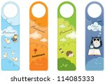 bookmarks for children  colorful