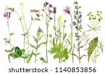 background with watercolor... | Shutterstock . vector #1140853856