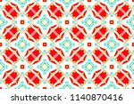 colorful seamless pattern for... | Shutterstock . vector #1140870416