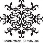 vector illustration. black... | Shutterstock .eps vector #114087208