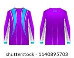 design for sublimation print.... | Shutterstock .eps vector #1140895703