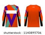 design for sublimation print.... | Shutterstock .eps vector #1140895706