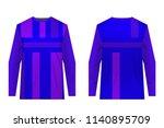 design for sublimation print.... | Shutterstock .eps vector #1140895709