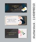 gift premium certificate.  gift ... | Shutterstock .eps vector #1140898010