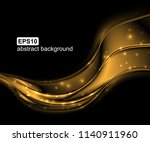 abstract light wave futuristic... | Shutterstock .eps vector #1140911960