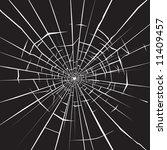 broken glass 5   Shutterstock .eps vector #11409457