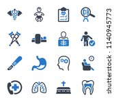 medical   healthcare icons  ...   Shutterstock .eps vector #1140945773
