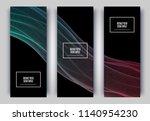 trendy geometric background. 3d ...   Shutterstock .eps vector #1140954230