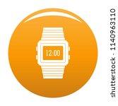 wristwatch icon. simple...   Shutterstock . vector #1140963110