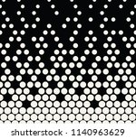 abstract halftone geometric...   Shutterstock .eps vector #1140963629