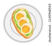 vector illustration of... | Shutterstock .eps vector #1140968543