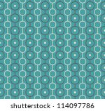 retro vector abstract atomic... | Shutterstock .eps vector #114097786