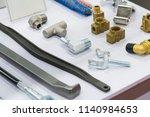 high precision hot forging... | Shutterstock . vector #1140984653