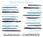 textured ink brush stroke... | Shutterstock .eps vector #1140984923