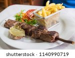 the traditional madeira dish... | Shutterstock . vector #1140990719