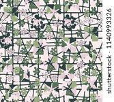 seamless camouflage pattern... | Shutterstock .eps vector #1140993326