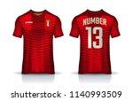 t shirt sport design template ... | Shutterstock .eps vector #1140993509
